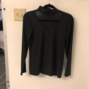 DREW Tops - Longsleev Black Top